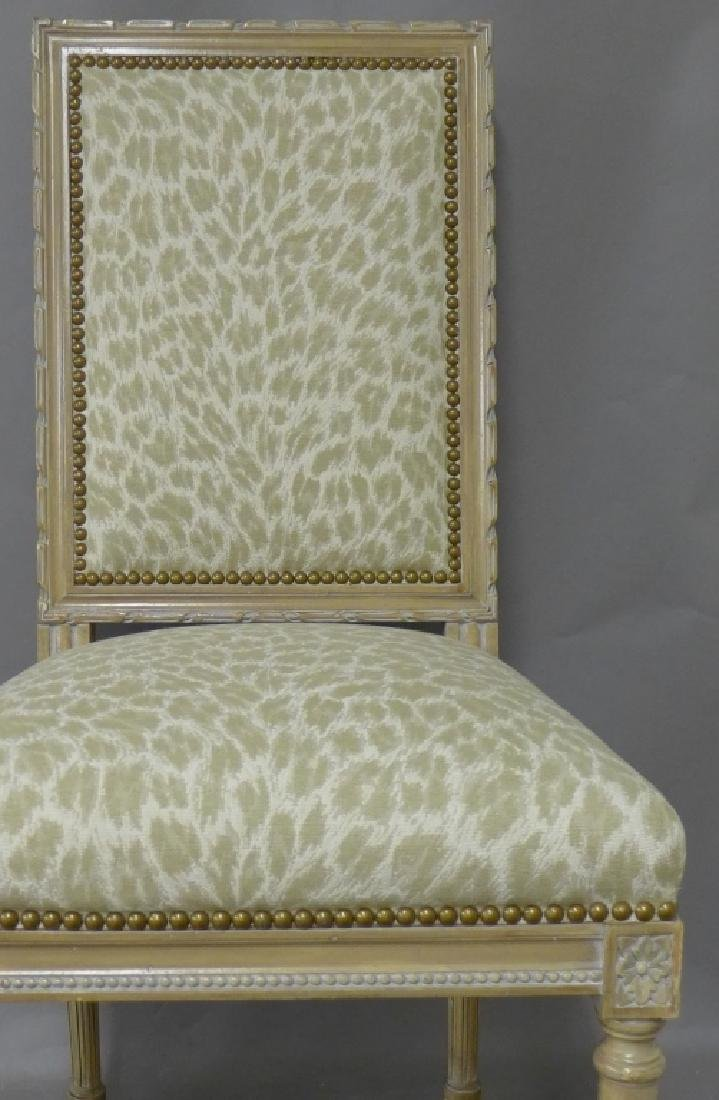 Louis XVI Style Accent Chair - 5