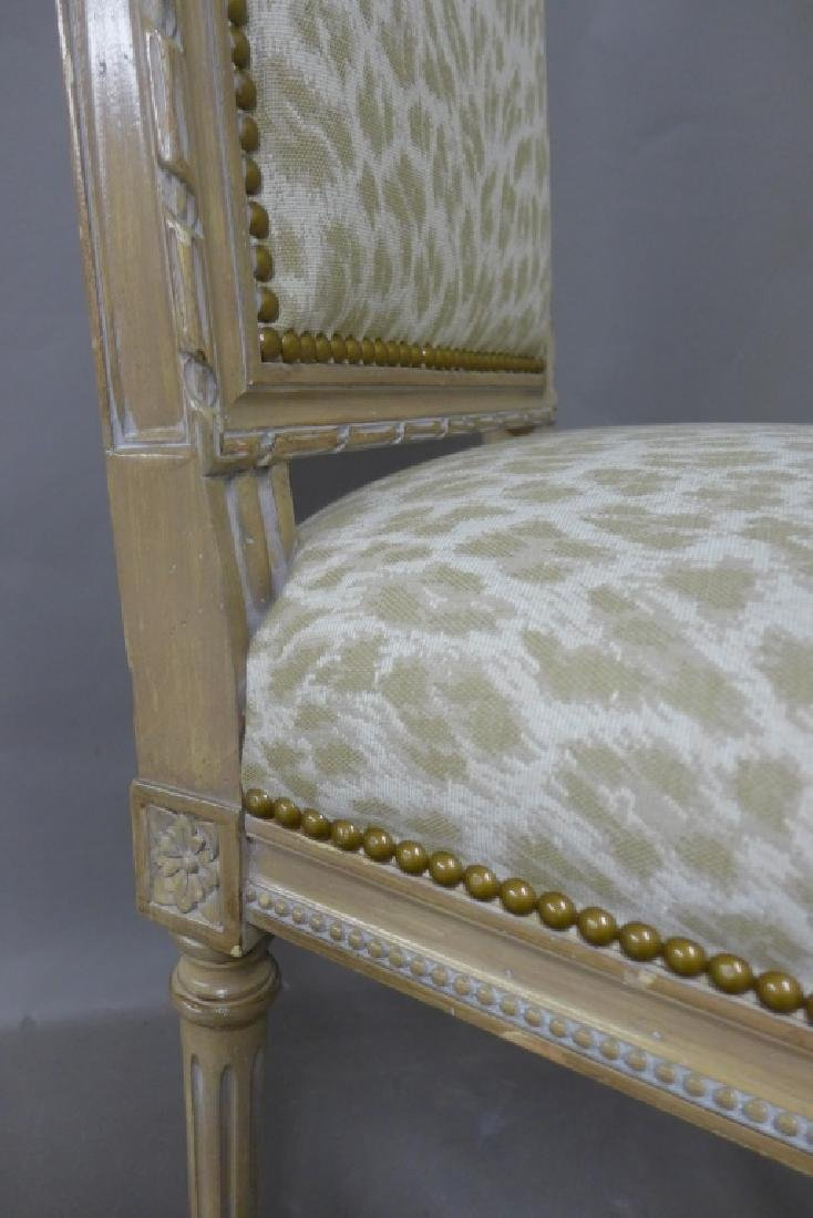 Louis XVI Style Accent Chair - 7