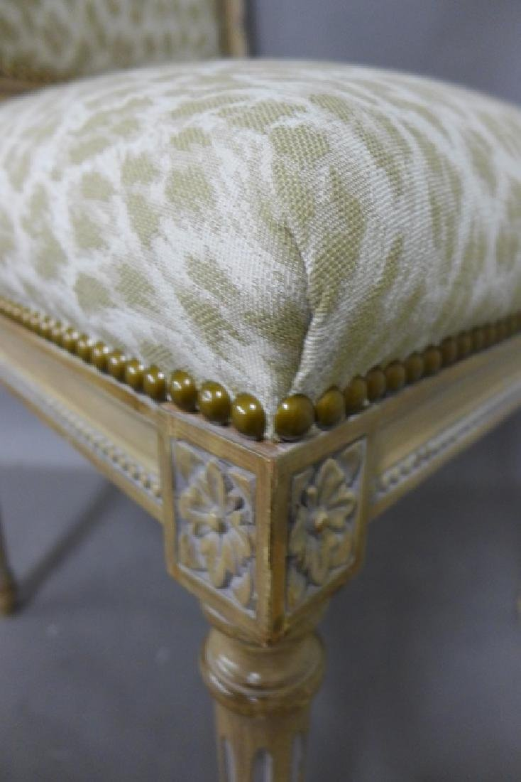 Louis XVI Style Accent Chair - 9