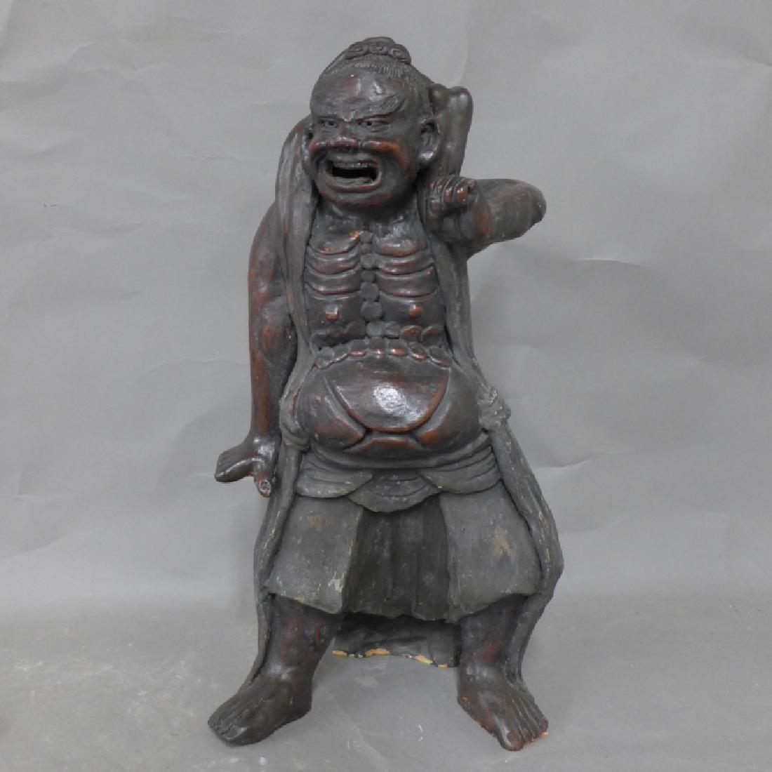 Asian Terracotta Figural Statue
