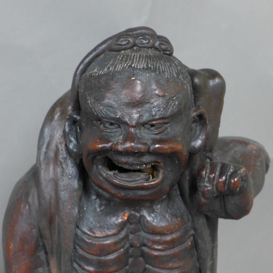 Asian Terracotta Figural Statue - 2