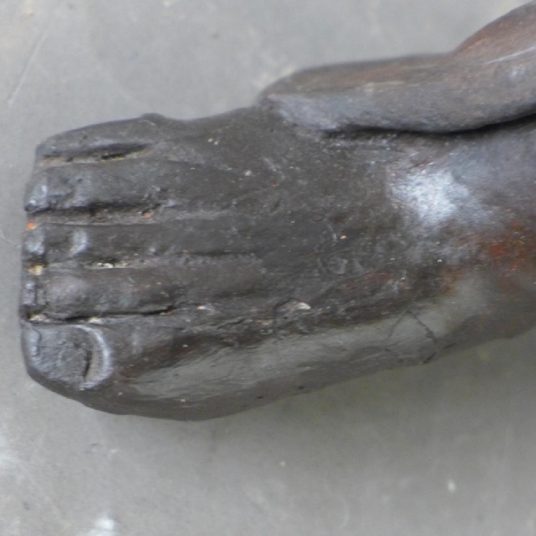 Asian Terracotta Figural Statue - 4
