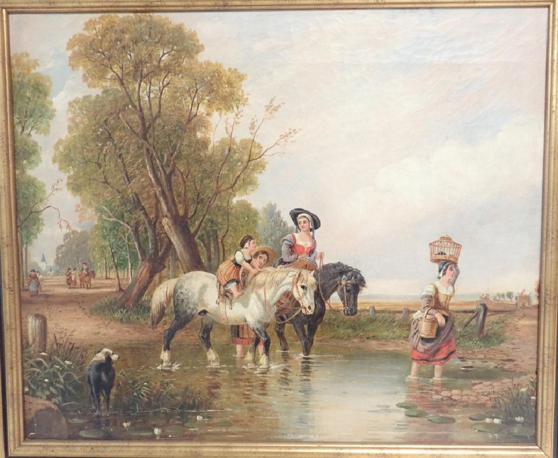 Augustus Wall Callcott (?- 1864) - 2