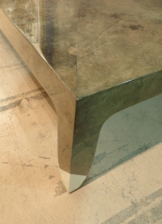 Karl Springer Lacquered Large Cocktail Table - 9