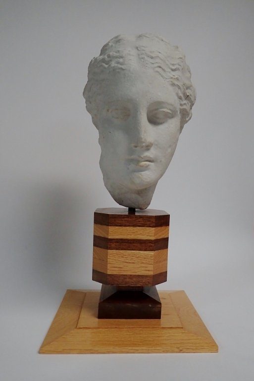 Head of Hygeia, Greek Goddess of Health, Sculpture