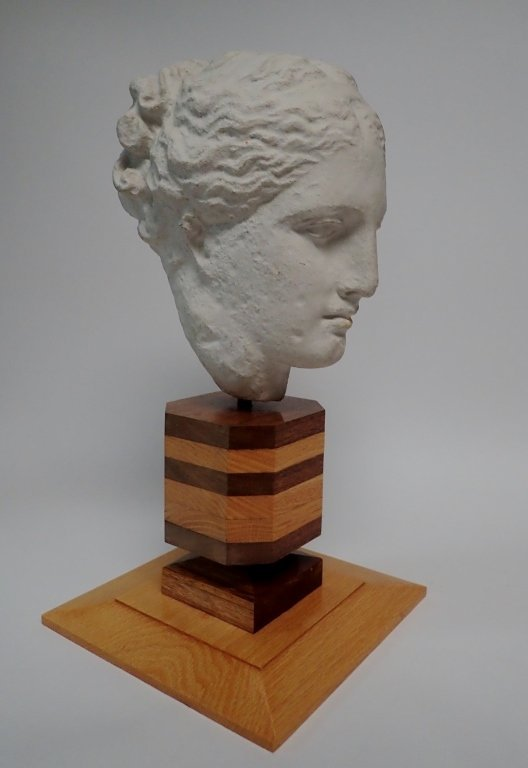 Head of Hygeia, Greek Goddess of Health, Sculpture - 2