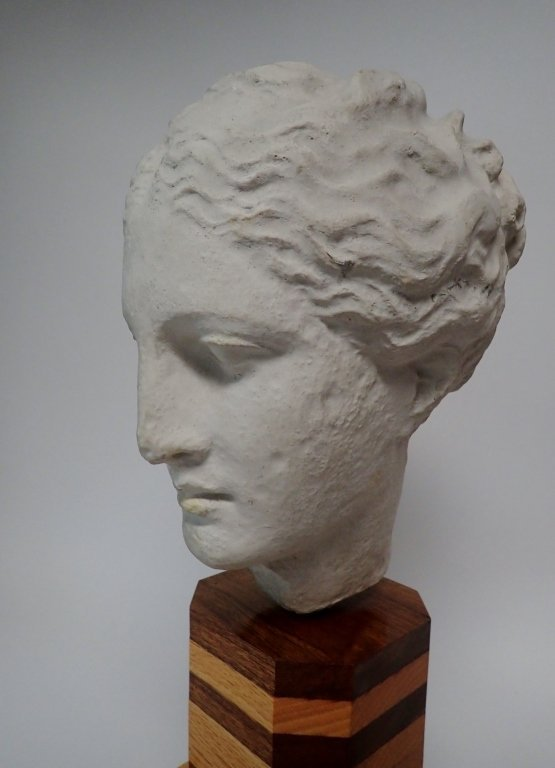 Head of Hygeia, Greek Goddess of Health, Sculpture - 3