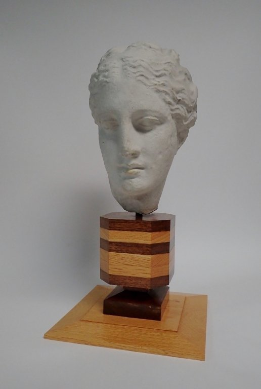 Head of Hygeia, Greek Goddess of Health, Sculpture - 4