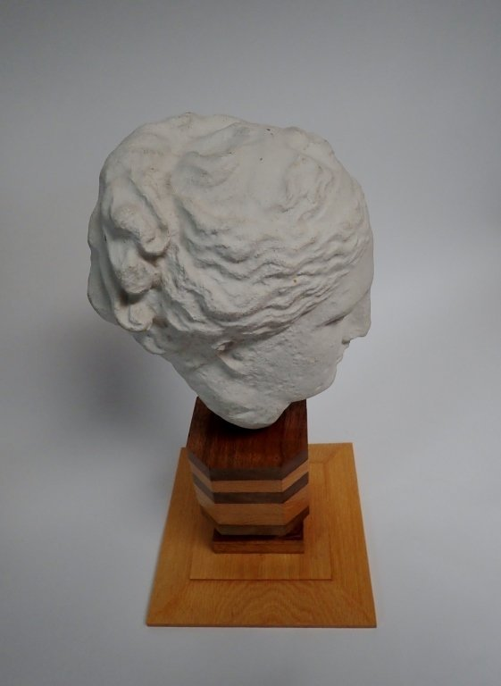 Head of Hygeia, Greek Goddess of Health, Sculpture - 7