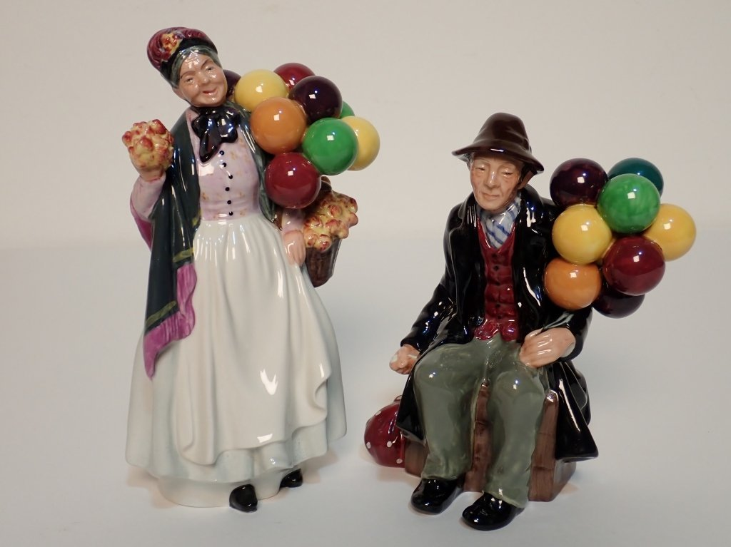 Mixed Grouping of Royal Doulton England Figurines - 2