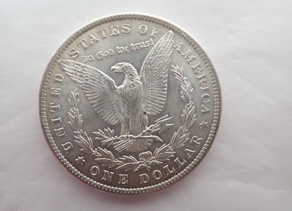 Two 1884 O $1 Morgan Silver Dollar Coins - 7