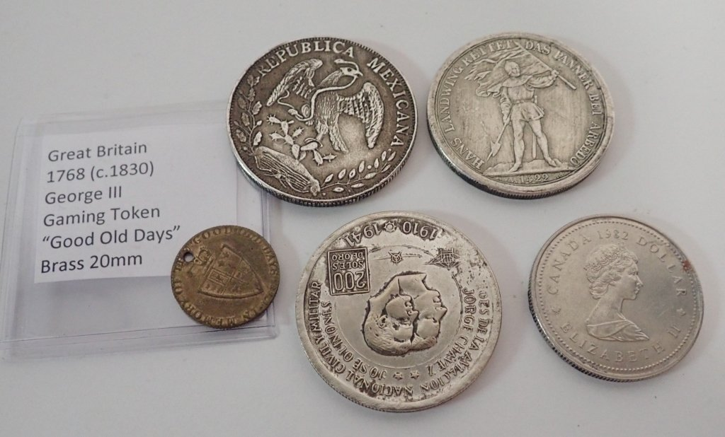 Assortment of International Coins