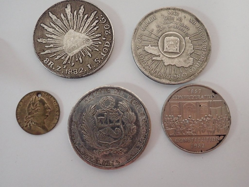 Assortment of International Coins - 2