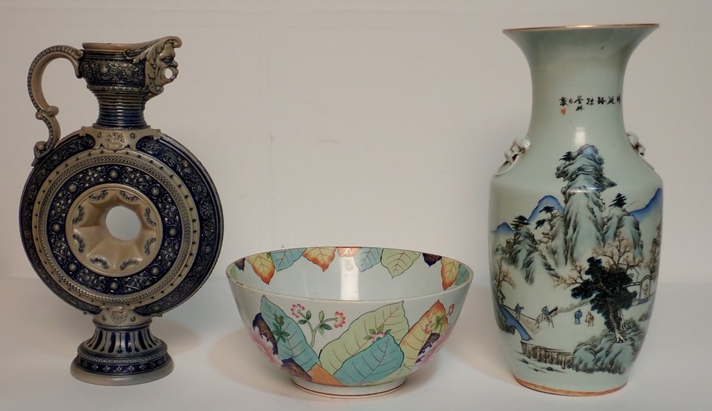 Group of Large Pottery Vessels