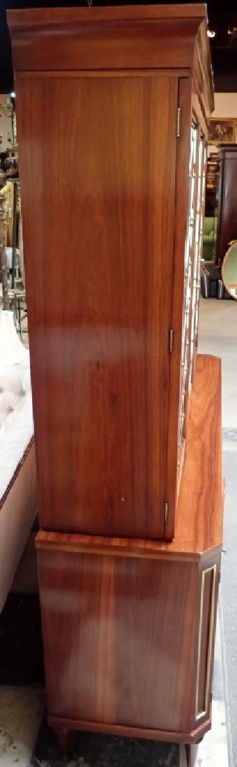Morganton Regency Style Mahogany Breakfront - 6