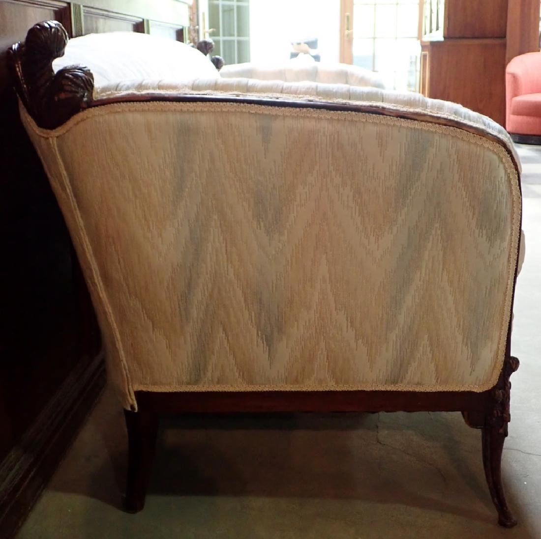 Mid-Century Carved Sofa - 2