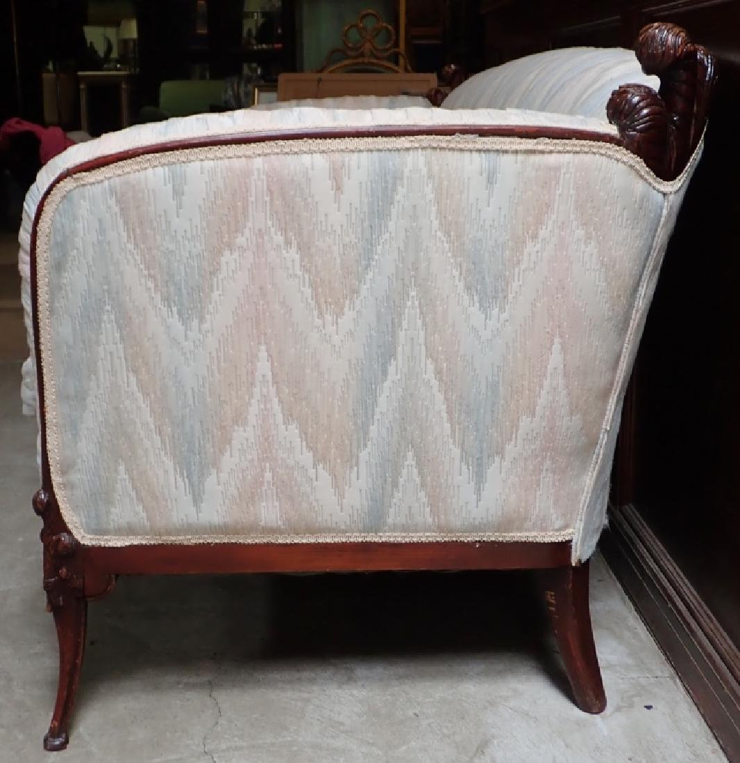 Mid-Century Carved Sofa - 3