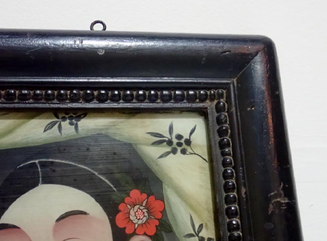 Chinese Reverse Painting on Glass - 5