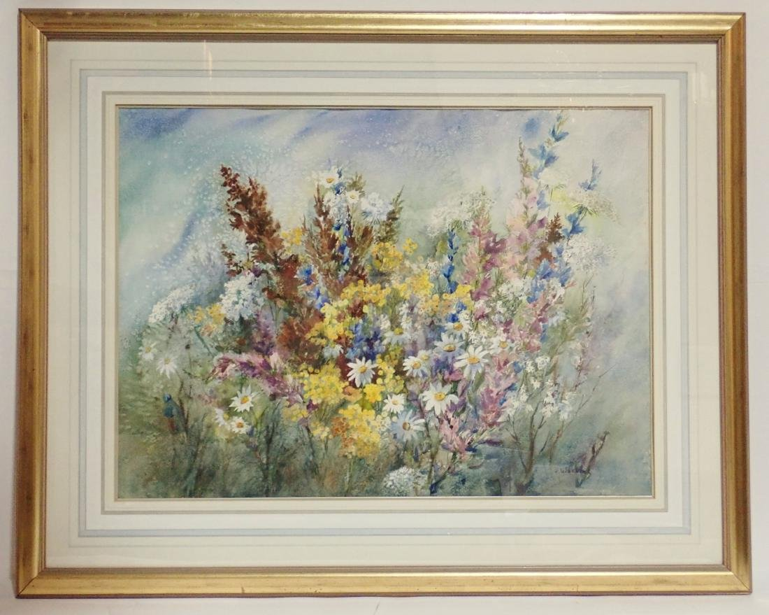 Floral Watercolor by Wachtel