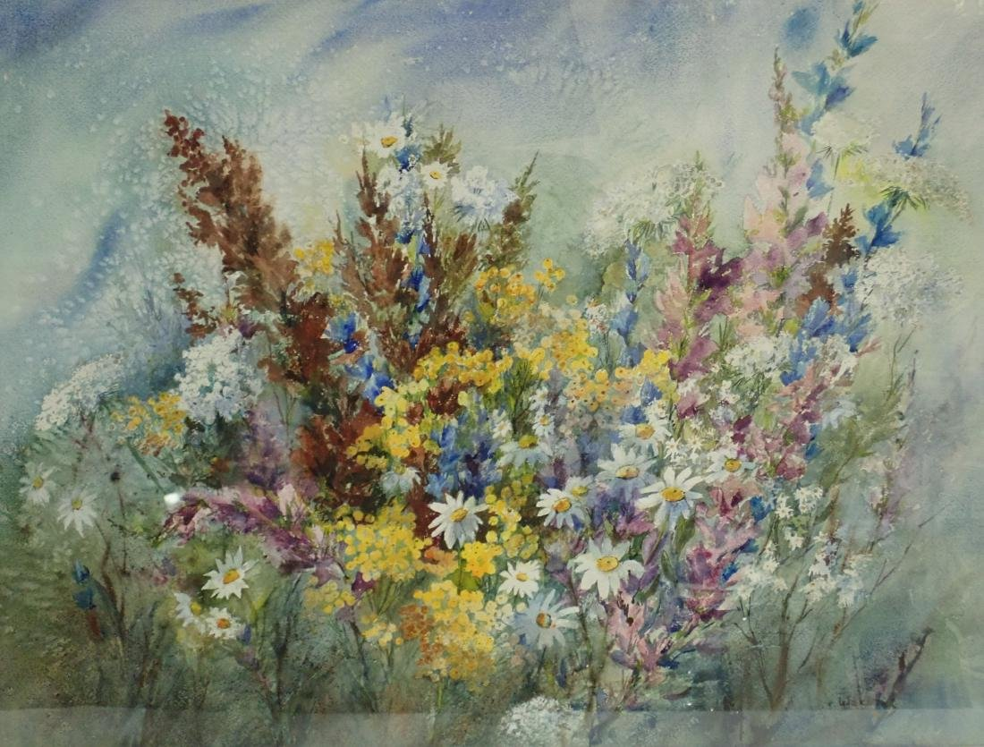 Floral Watercolor by Wachtel - 3