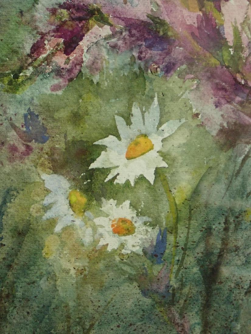 Floral Watercolor by Wachtel - 5