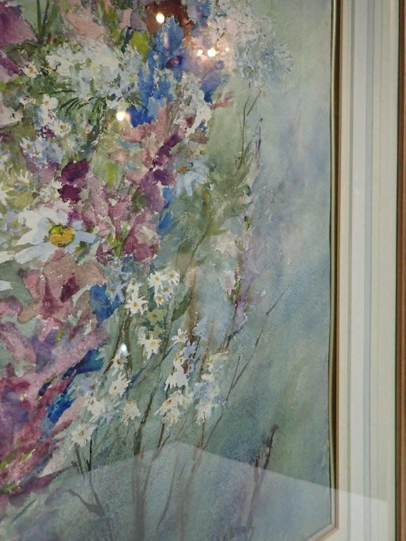 Floral Watercolor by Wachtel - 7