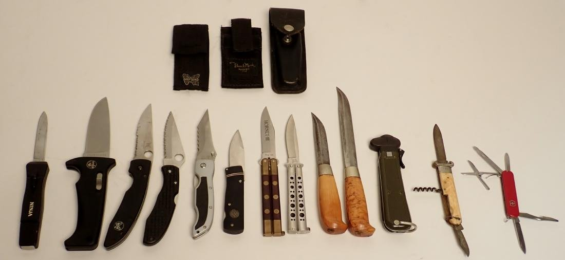 Grouping of Branded Knives