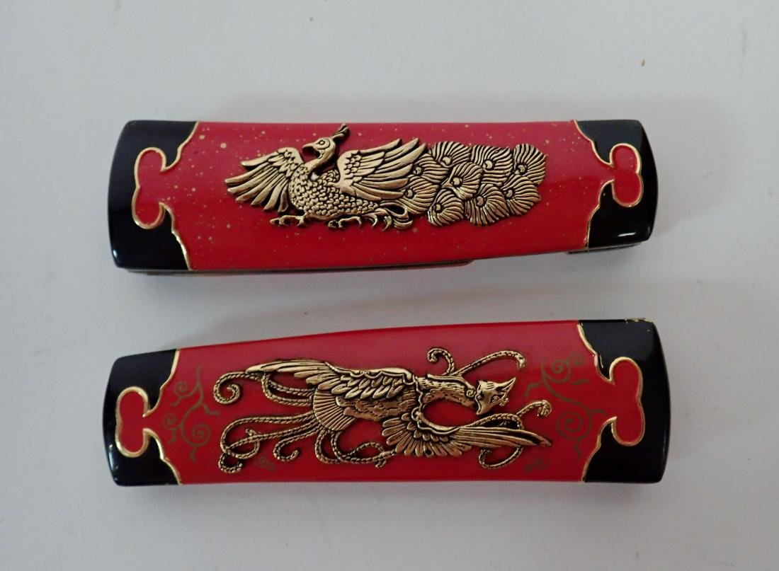 Set of 5 Franklin Mint Japanese Collector Knives - 8