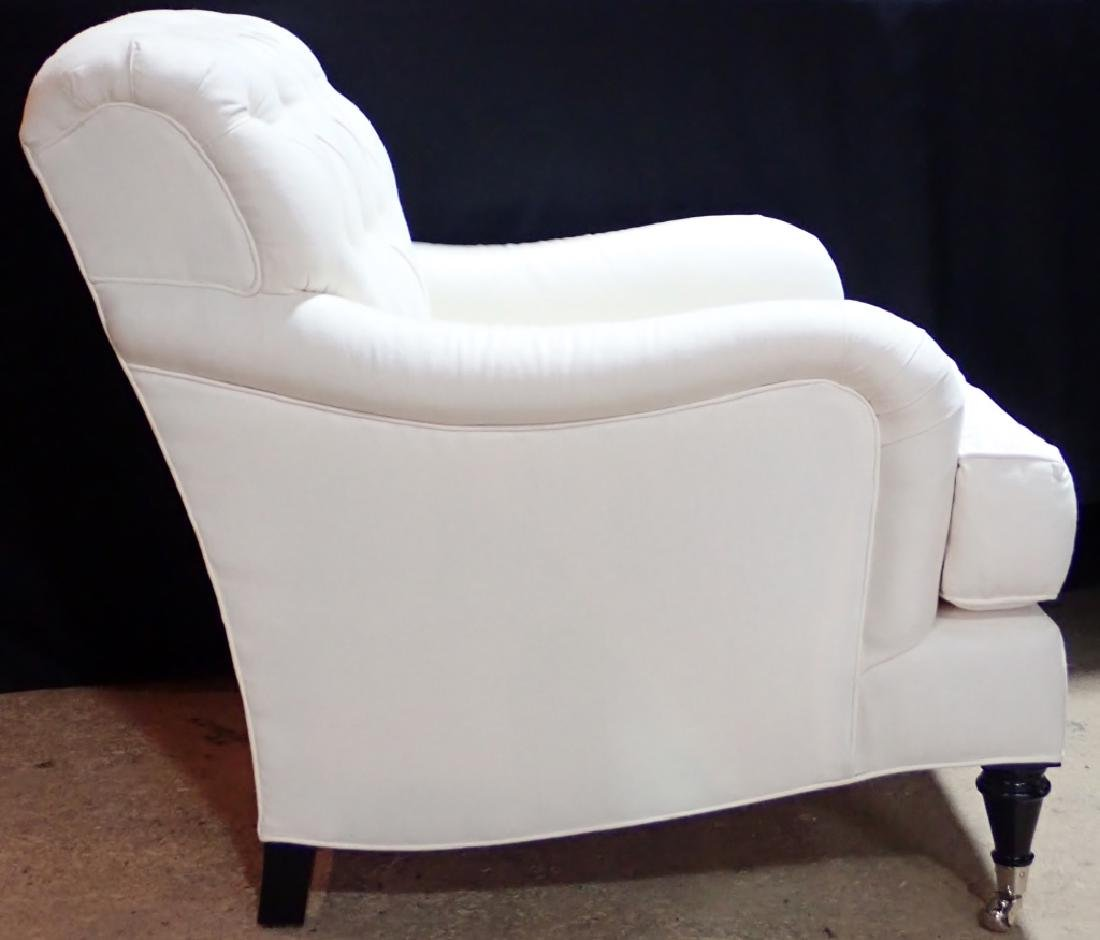 Barclay Butera Upholstered White Armchair - 2