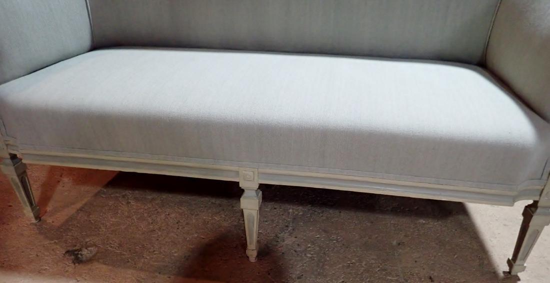 Louis XVI Style Continental Sofa - 5