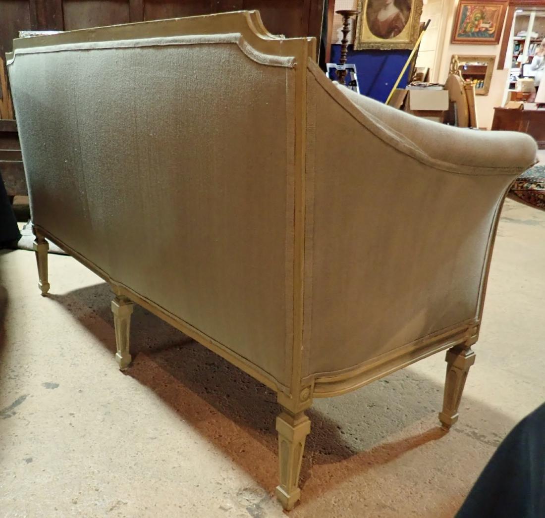 Louis XVI Style Continental Sofa - 9