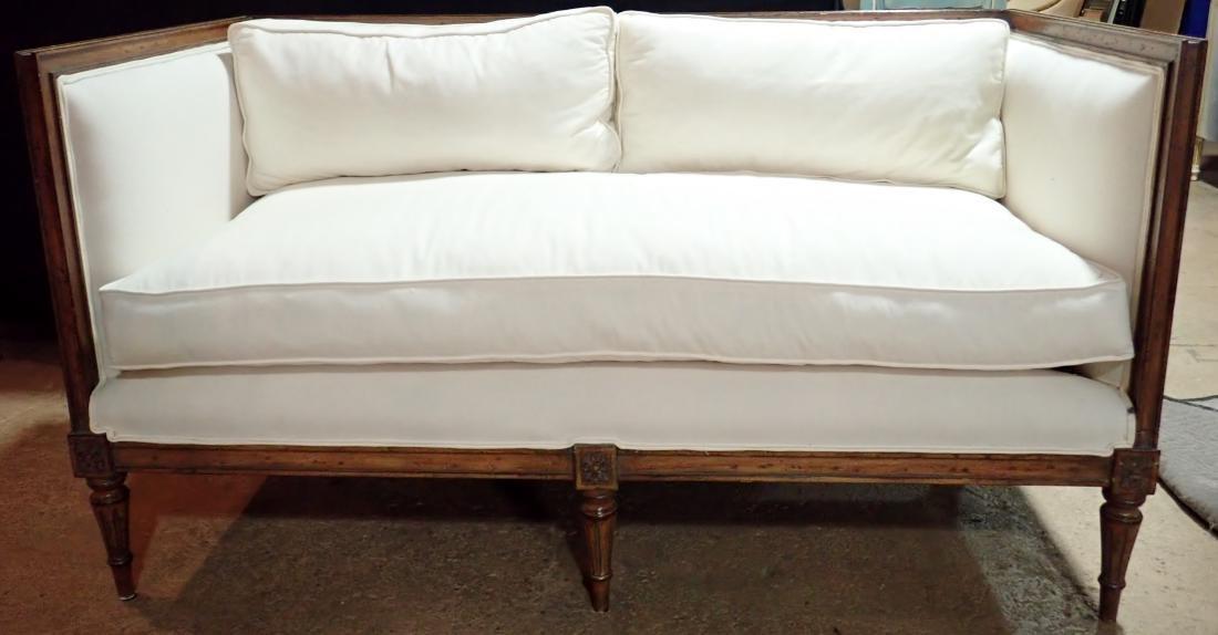 Continental Mid-Century Sofa