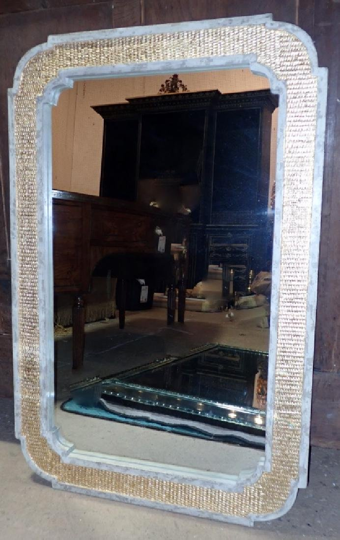 Painted and Gilt Frame Mirror