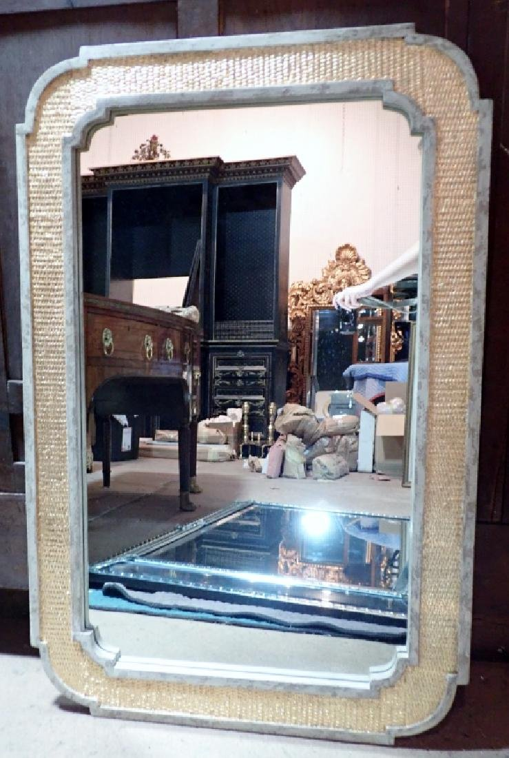 Painted and Gilt Frame Mirror - 2
