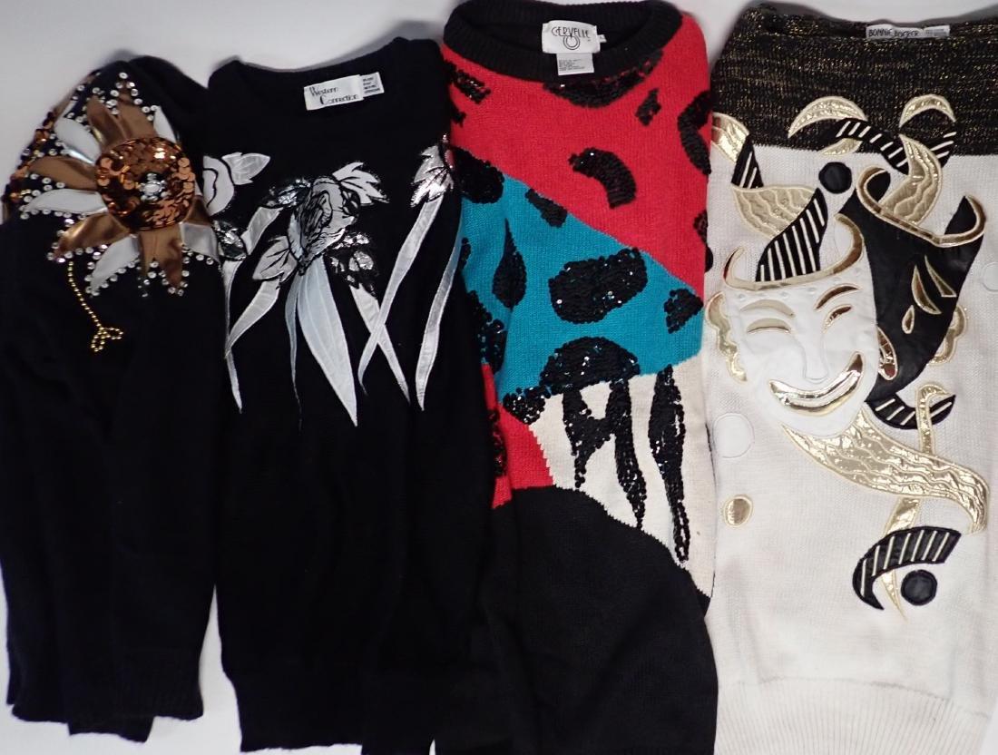 Vintage 80's Designer Sweater Collection