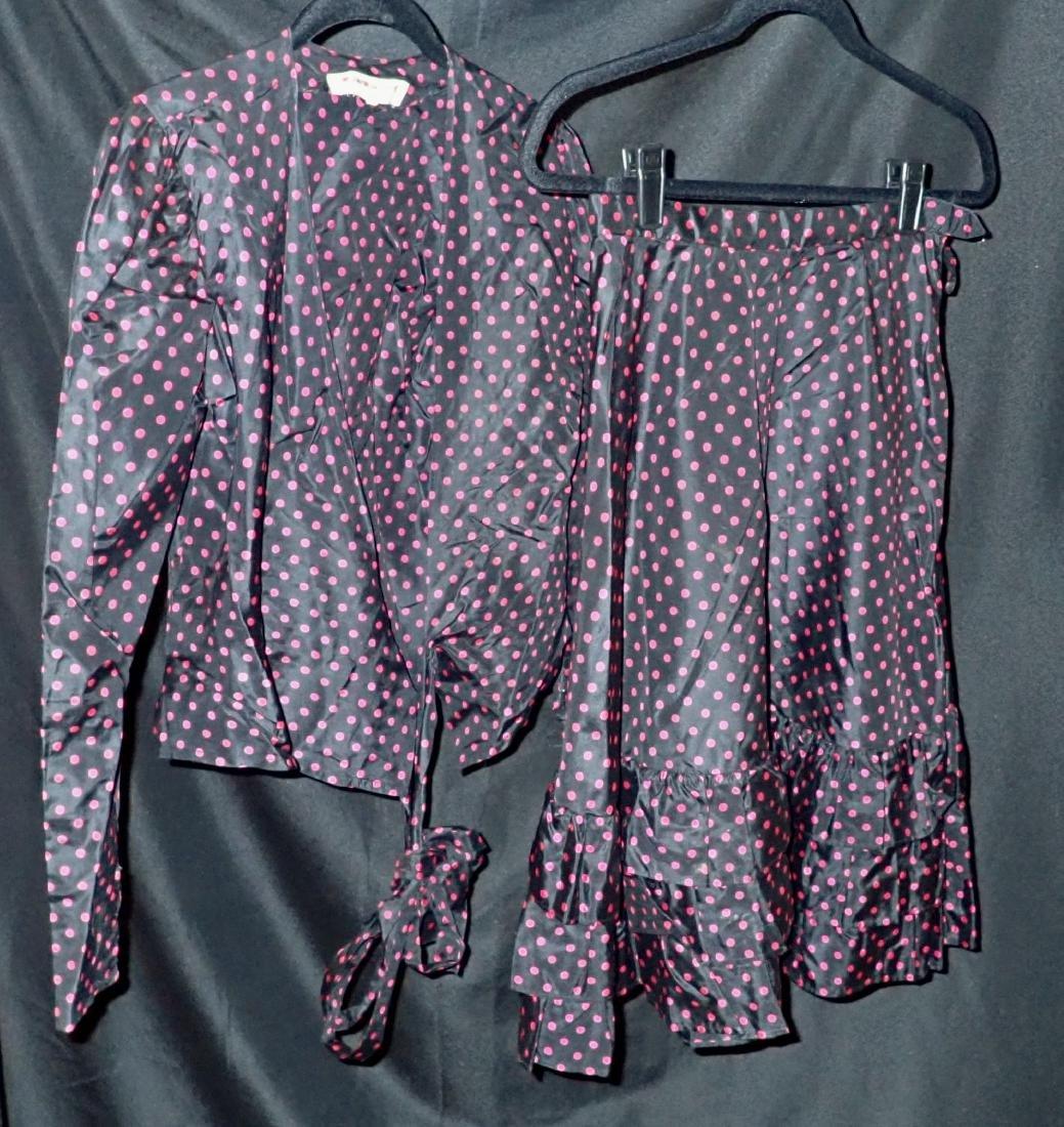 3 Vintage French Designer 2 Piece Clothing Sets - 4