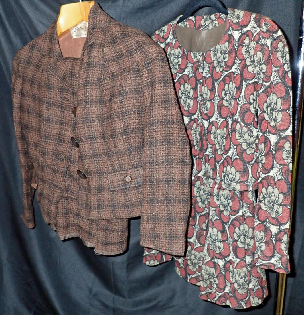 Two Vintage Designer 2-Piece Skirt Suits - 2
