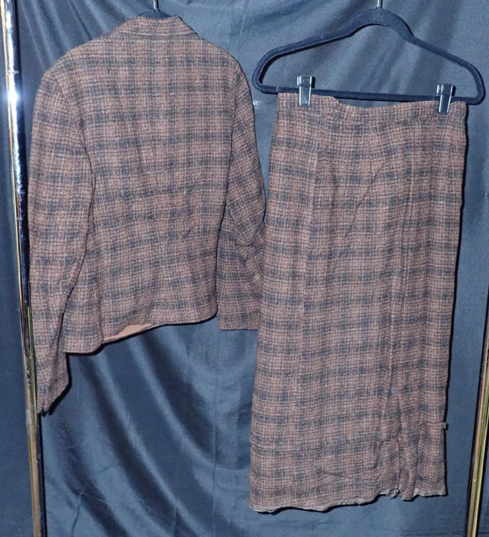 Two Vintage Designer 2-Piece Skirt Suits - 9