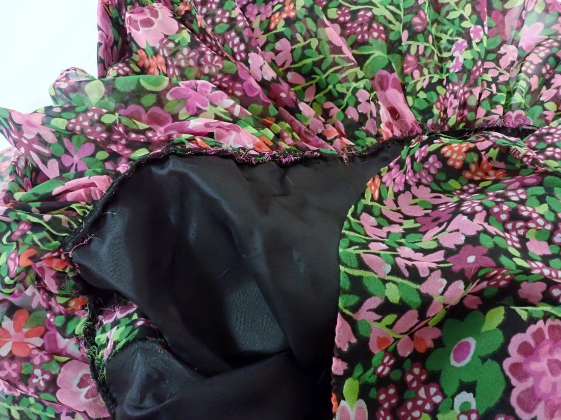 3 Vintage Designer silk dressed - 10