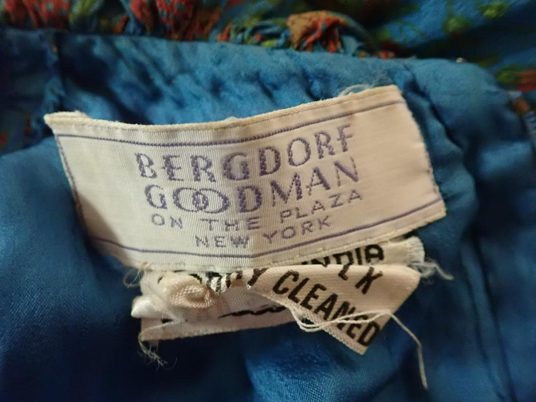 3 Vintage Designer silk dressed - 11