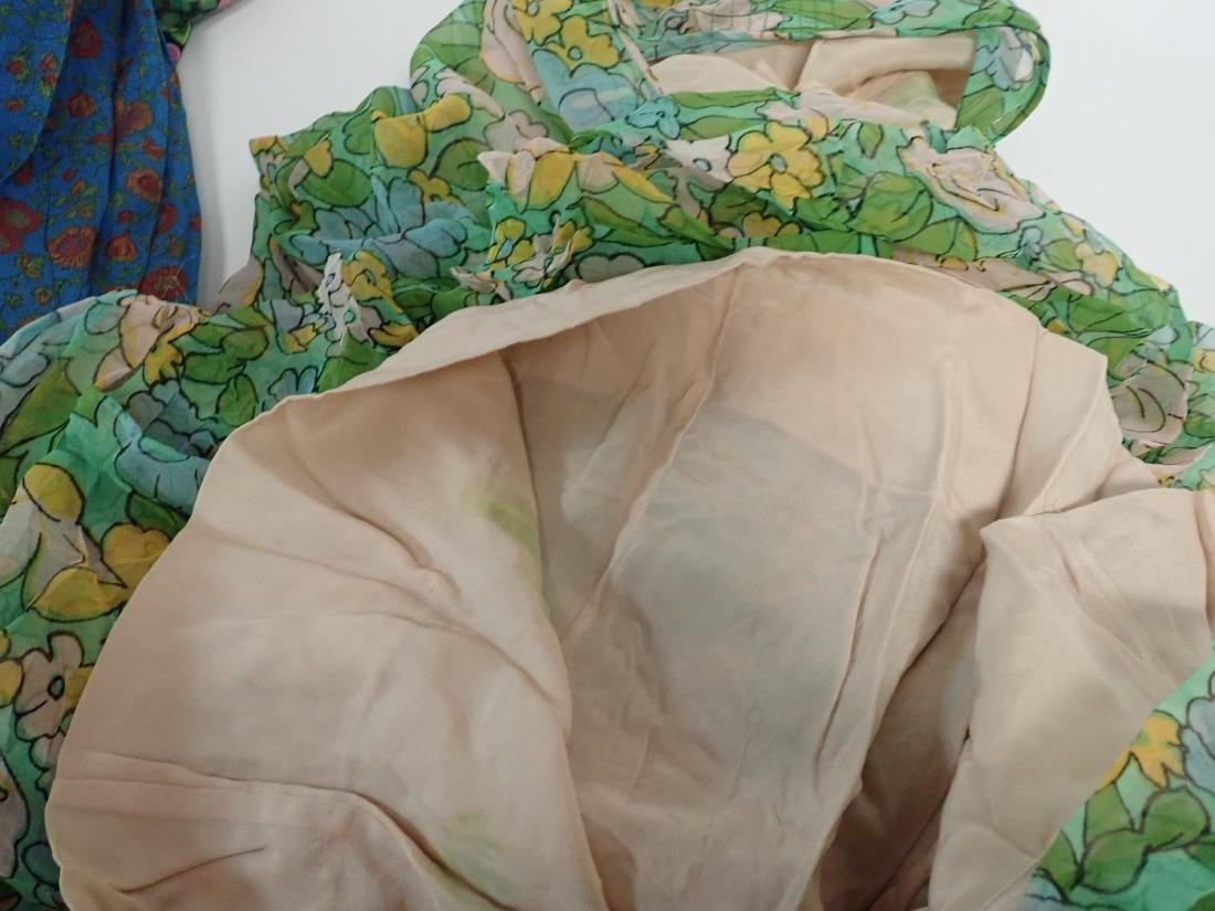3 Vintage Designer silk dressed - 12