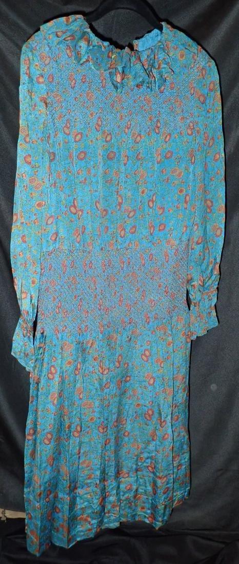 3 Vintage Designer silk dressed - 5