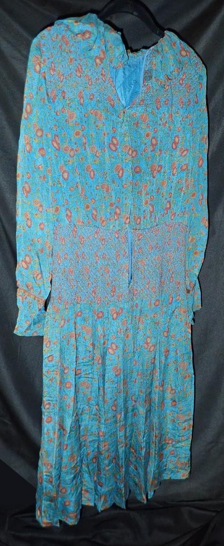 3 Vintage Designer silk dressed - 6