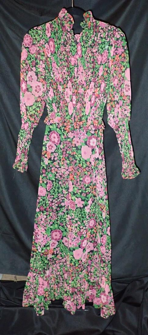 3 Vintage Designer silk dressed - 8