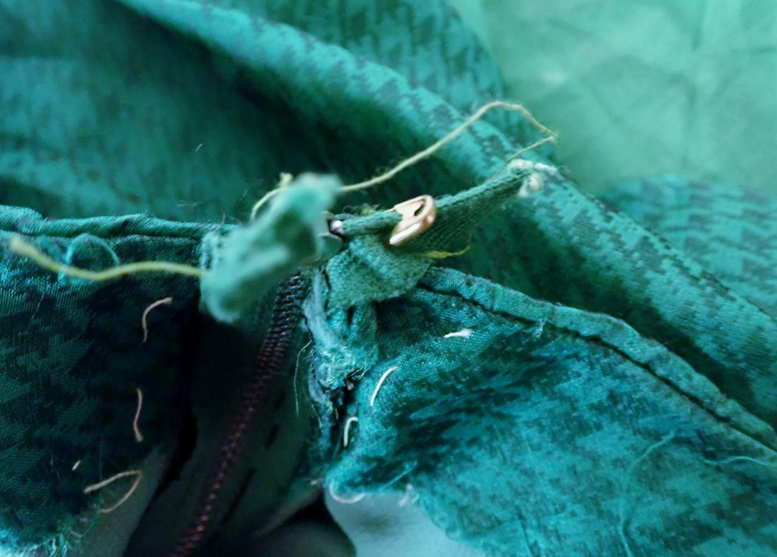 Three Silk Vintage Dresses - 11