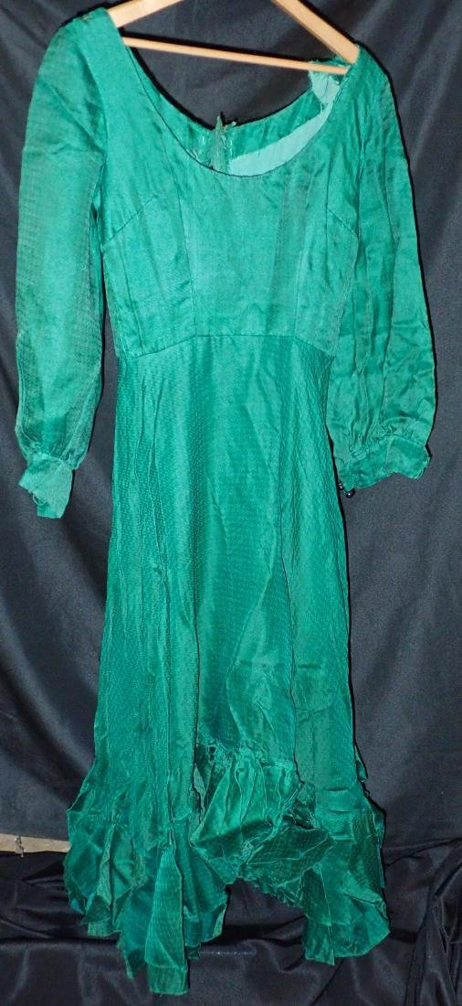 Three Silk Vintage Dresses - 7