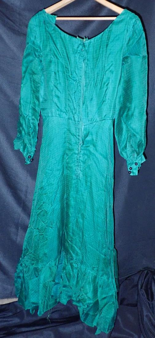Three Silk Vintage Dresses - 8