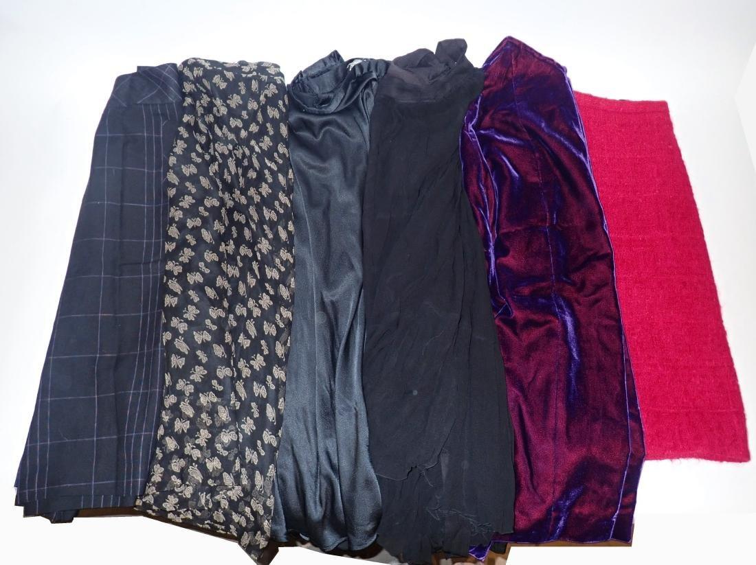 Six Assorted Vintage Designer Skirts