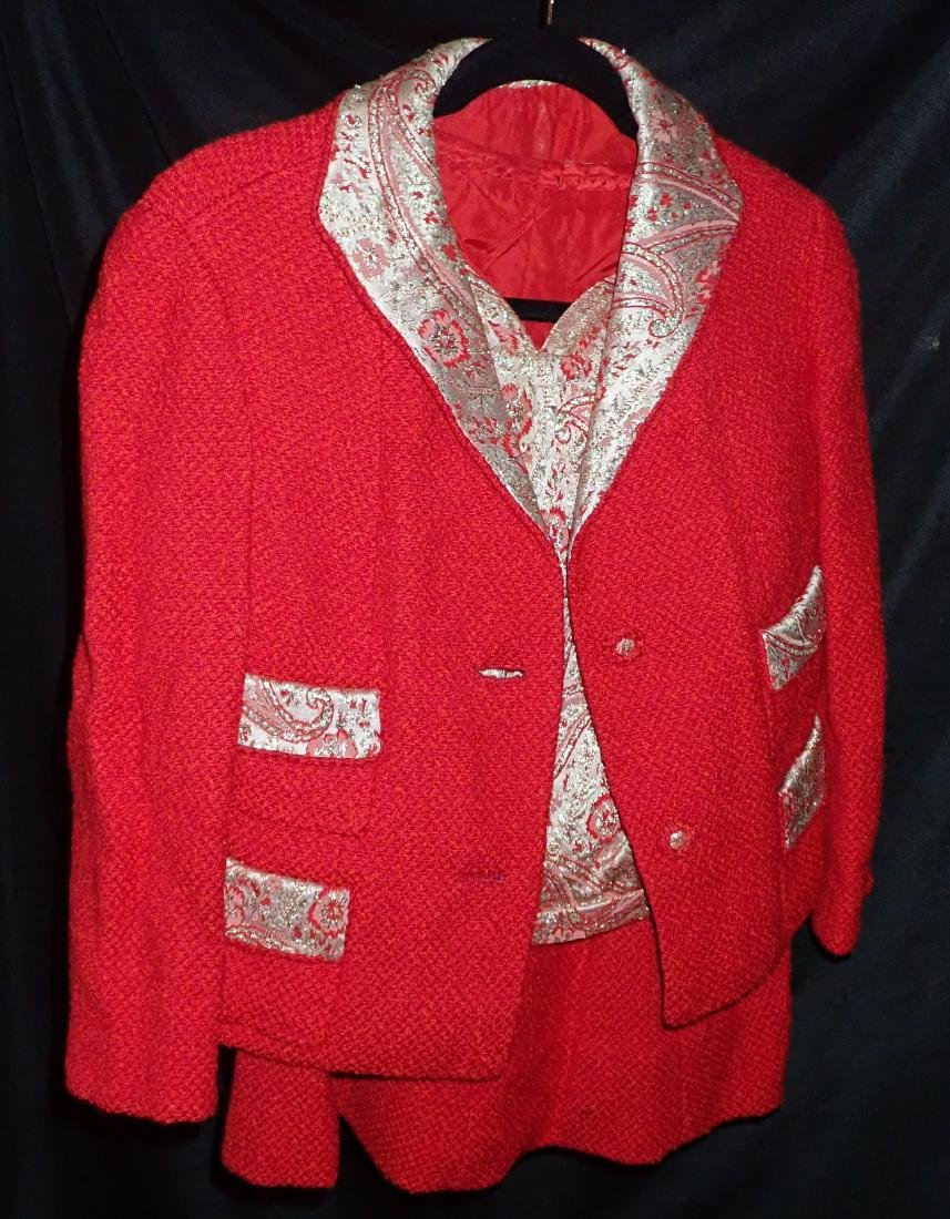 Ladies Vintage 3 Piece Skirt Suit - 10