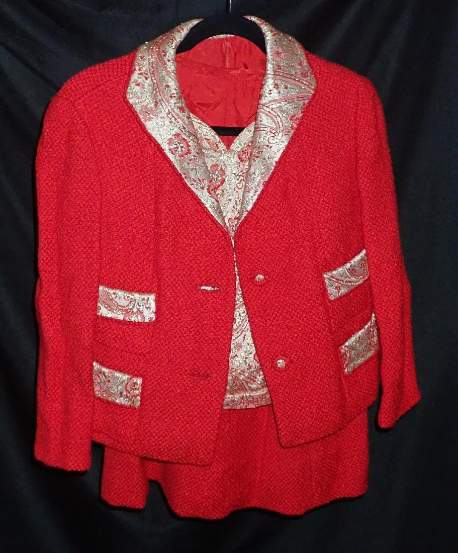 Ladies Vintage 3 Piece Skirt Suit